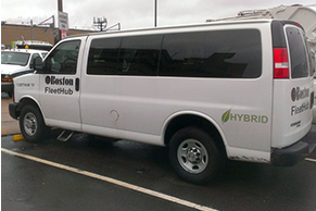 boston hybrid van